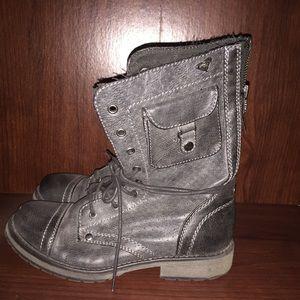 Roux combat boots